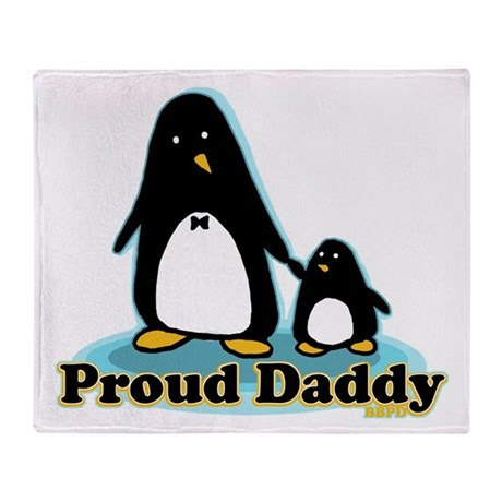 Proud Daddy 2.0 Throw Blanket