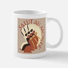 Salut au Monde Small Small Mug