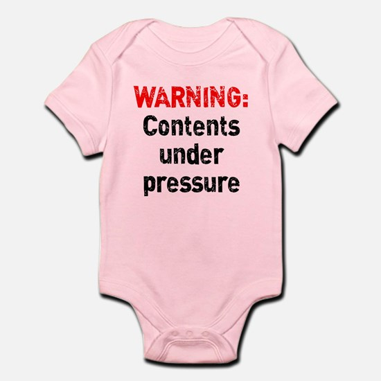 Contents Under Pressure Infant Bodysuit