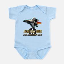 USAF Air National Guard Infant Bodysuit