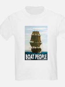 Tall-ship graphic : T-Shirt