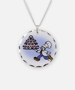 Cake Chef Necklace