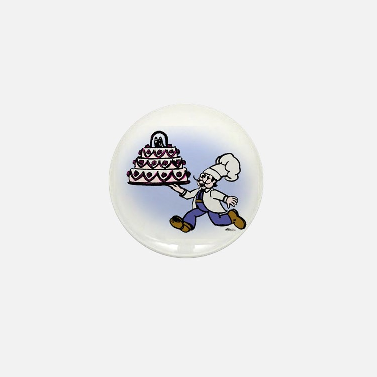 Cake Chef Mini Button