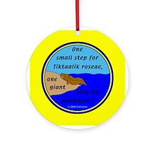 Tiktaalik Roseae Evolution Ornament (Round)