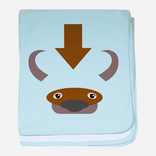 Cute Avatar airbender baby blanket