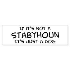 If it's not a Stabyhoun Bumper Bumper Sticker