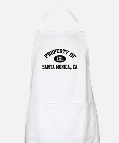 Property of Santa Monica BBQ Apron