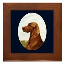 Irish Setter Framed Tile