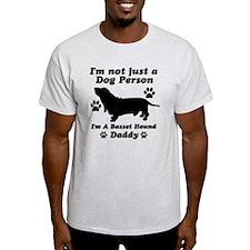 Basset hound daddy T-Shirt