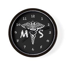 Mortuary Wall Clock
