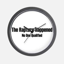The Repture Happened Wall Clock