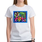 tropical forest animals mola Women's T-Shirt