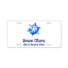 Funny Flakes Aluminum License Plate
