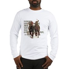 Will Rogers Horse Racing Quot Long Sleeve T-Shirt