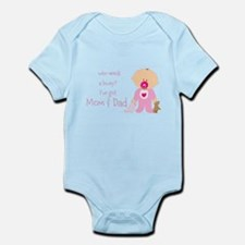 Who needs a lovey? Infant Bodysuit