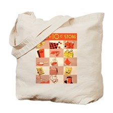 Five and Dime Tote Bag