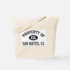 Property of San Mateo Tote Bag