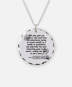 Fosdick Best Quote Necklace