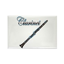 Clarinet Rectangle Magnet