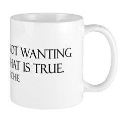 Faith: Not Wanting to Know Wh Mug