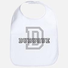 Letter D: Dubuque Bib