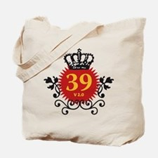 Happy 39 Birthday Version 2.0 Tote Bag