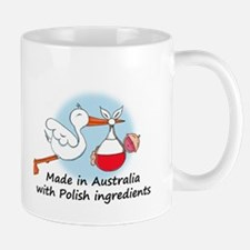 Stork Baby Poland Australia Small Small Mug