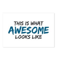 Awesome Looks Like Postcards (Package of 8)