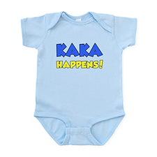 Kaka Happens Infant Bodysuit