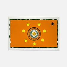 Cherokee Nation Flag Rectangle Magnet