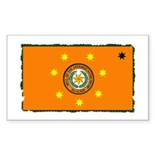 Cherokee Nation Flag Decal