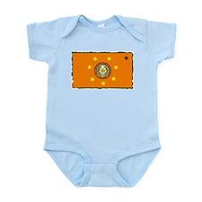 Cherokee Nation Flag Infant Bodysuit