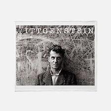 Wittgenstein Throw Blanket