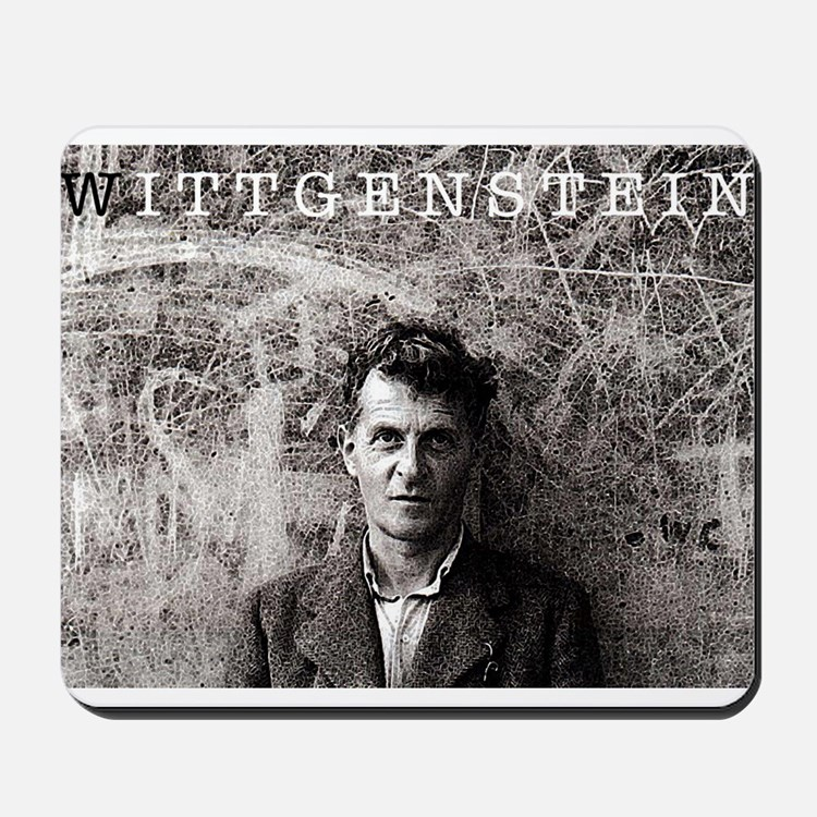 Wittgenstein Mousepad