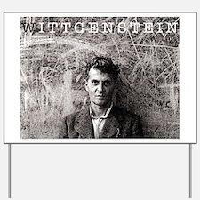Wittgenstein Yard Sign