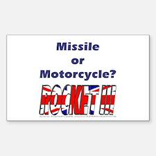 Missle or Motorcycle? Decal