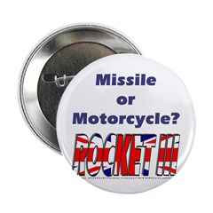 """Missle or Motorcycle? 2.25"""" Button (100 pack)"""