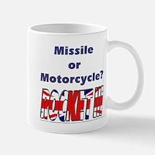 Missle or Motorcycle? Small Small Mug