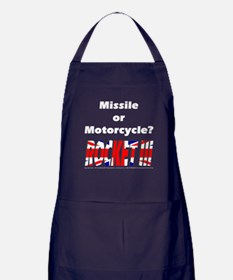 Missle or Motorcycle? Apron (dark)