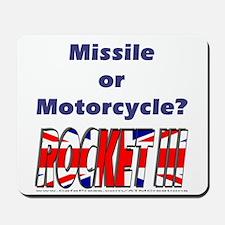 Missle or Motorcycle? Mousepad