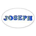 Joseph Sticker (Oval 10 pk)