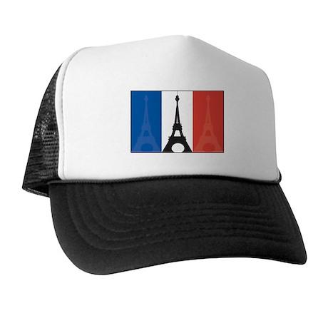 France Eiffel Tower Trucker Hat