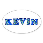 Kevin Sticker (Oval 10 pk)