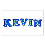 Kevin Sticker (Rectangle 50 pk)