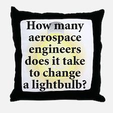 Aerospace Engineer Throw Pillow