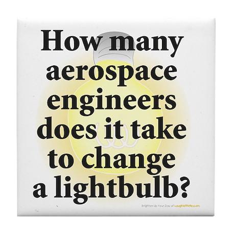 Aerospace Engineer Tile Coaster
