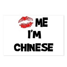 Kiss Me I'm Chinese Postcards (Package of 8)