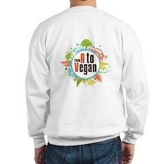 Vegan World Sweatshirt