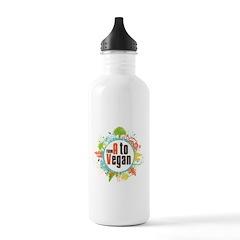 Vegan World Water Bottle