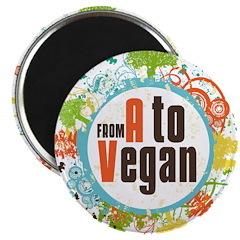 Vegan World Magnet